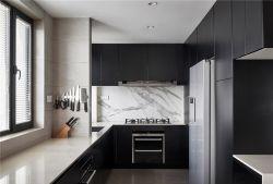 現代簡約風格112平三居室廚房裝修效果圖