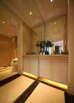 卫生间浴室柜图片 卫生间浴室柜台面