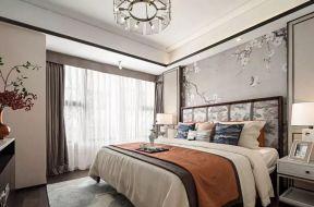 臥室床頭軟包背景墻效果圖 臥室床頭軟包圖片