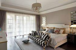 復式255平美式風格臥室裝修設計圖