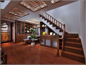 中式復式樓梯裝修效果圖 中式樓梯設計