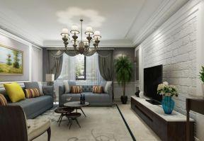 美式風格客廳裝修圖 美式風格客廳裝修效果圖