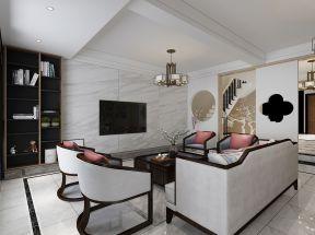別墅客廳電視墻 別墅客廳吊頂家裝效果圖