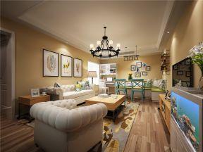 美式鄉村風格客廳設計 美式鄉村風格客廳裝修效果圖