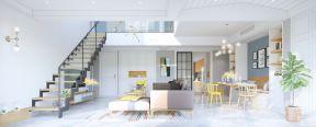 復式客廳樓梯效果圖 復式客廳樓梯設計