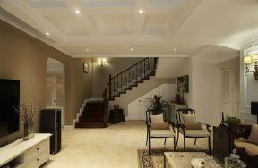 美式樓梯扶手設計 美式樓梯裝修設計