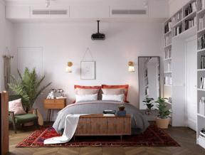 臥室家具搭配效果圖 臥室家具圖片