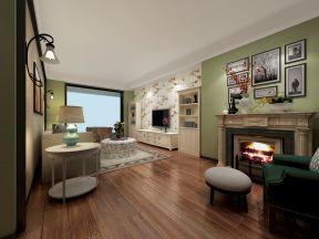 客廳壁爐裝修效果圖片 客廳壁爐設計