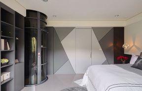 臥室書柜裝修效果圖 臥室書柜設計效果圖