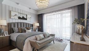 新古典臥室風格 新古典臥室背景墻裝修效果圖