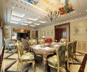 法式餐廳吊頂 法式風格餐廳設計