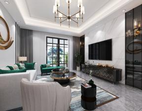现代客厅装潢 现代客厅装饰 现代客厅效果图