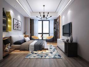 新中式卧室装修效果图大全 新中式卧室装修效果图大全2019图片 新中式