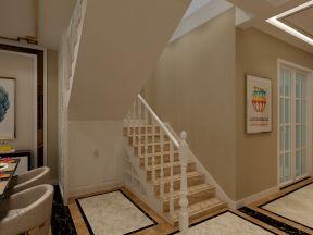 現代樓梯扶手設計 現代樓梯裝修效果圖