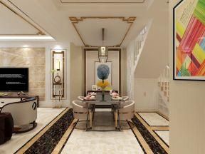200平米现代复式餐厅装修设计效果图大全图片