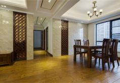 138平米四居室中式裝修設計效果圖欣賞