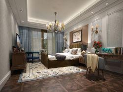 二居93平歐式風格臥室裝修效果圖