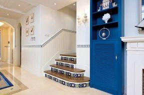 地中海樓梯設計圖片 地中海樓梯效果圖