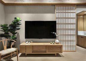 日式電視柜 日式電視墻裝修設計圖