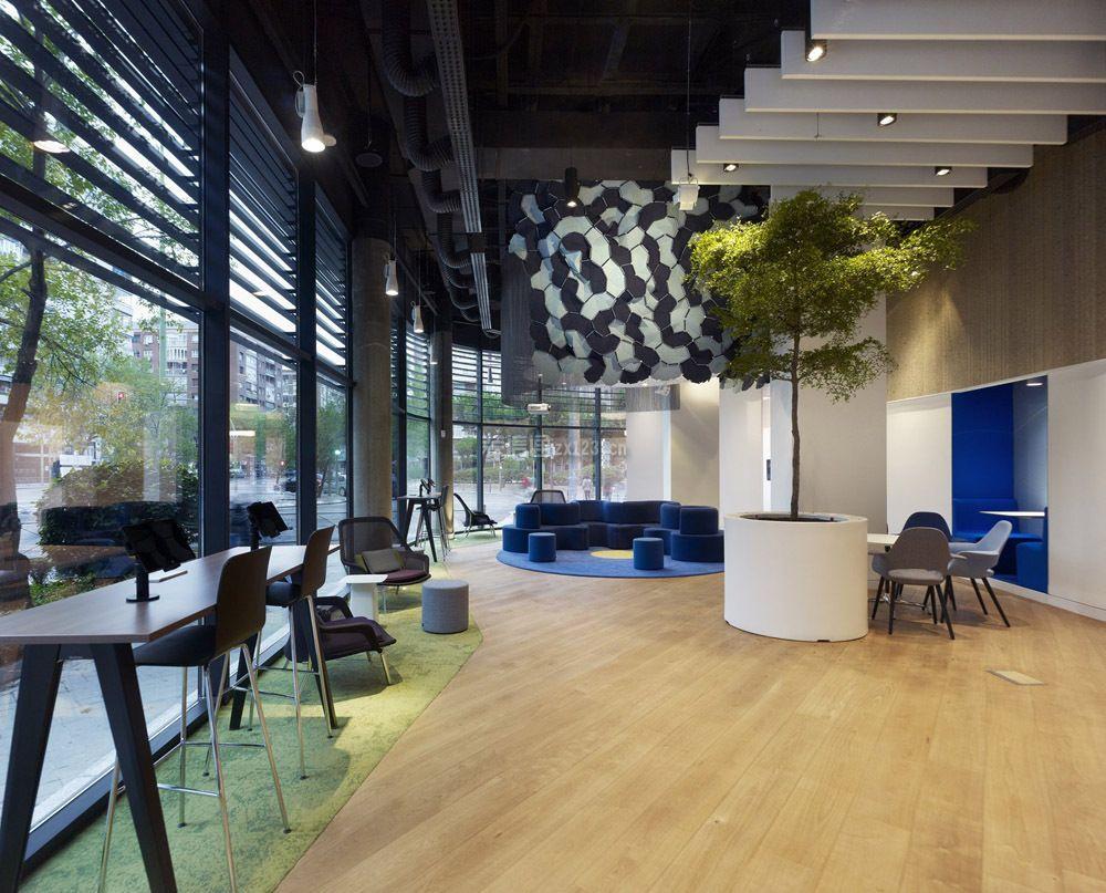现代风格800平生态办公室装修效果图
