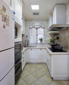 美式風格廚房裝飾效果圖  簡約美式廚房裝修風格