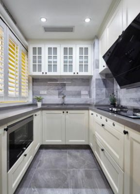 u型廚房設計 u型廚房設計效果圖