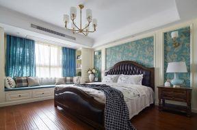 美式風格臥室設計 美式風格臥室墻紙 美式風格臥室裝修效果圖