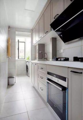 長方形廚房設計 長方形廚房效果圖