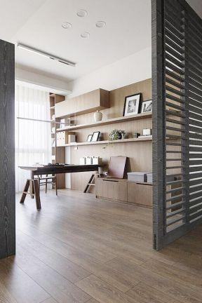 書房地板裝修效果圖 現代風格書房效果圖