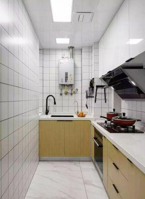 長方形廚房設計 長方形廚房裝修 長方形廚房效果圖