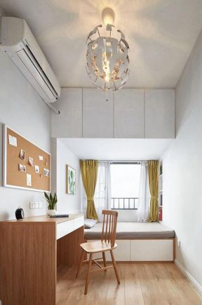 小戶型書房裝修設計圖 小戶型書房裝修圖 現代小書房