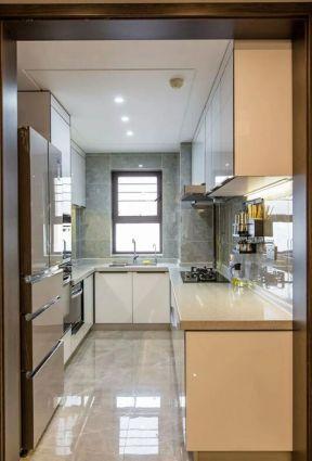 簡約廚房裝潢 L型廚房裝修效果圖