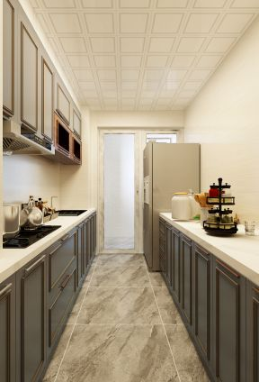 歐式風格廚房裝修圖片 歐式風格廚房裝修圖