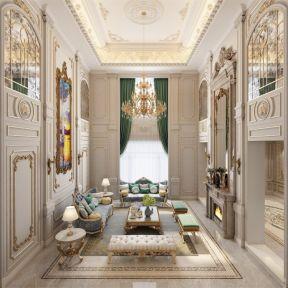 法式風格客廳效果圖片 法式風格客廳裝修效果圖