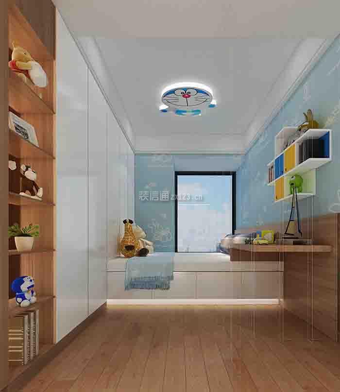 壹城中心120平米四居室现代风格装修设计效果图