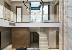 御龍城2棟復式后現代風格裝修設計效果圖