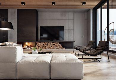 瑞安装饰设计现代奢华风,一个低调奢华有内涵的家