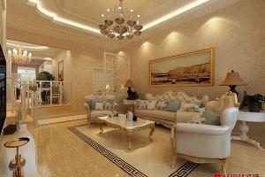 二居室137平欧式风格家装案例