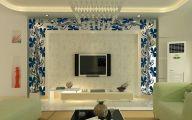 【北京華麗博雅裝飾】软装配饰之利用墙纸进行电视墙装修
