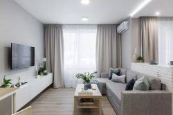 50平北歐風格兩室一廳裝修效果圖片