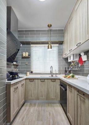 混搭風格廚房裝修效果圖 廚房實木櫥柜圖片 廚房實木櫥柜效果圖