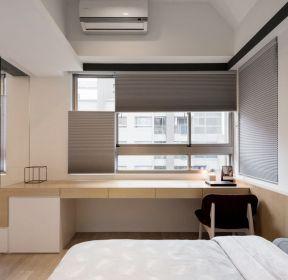 50平兩室一廳臥室飄窗書桌設計裝修圖-每日推薦
