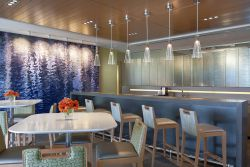 重慶辦公室茶水間吧臺裝修設計圖片2020
