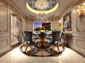 法式風格餐廳設計 法式風格餐廳裝修效果圖