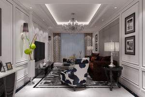 162平四居室现代风格家装案例