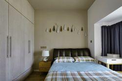 合肥新房裝修臥室床頭背景墻設計圖片