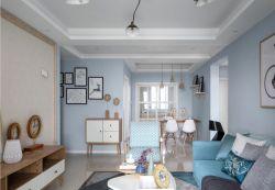 合肥130平北歐風格新房室內裝修實景圖片