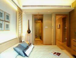深圳港式風格樣板房臥室裝修設計圖片2019