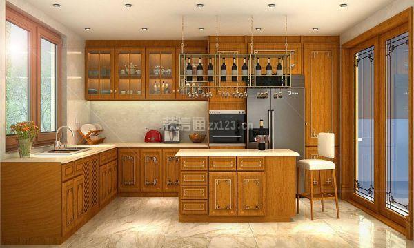 中式风格厨房
