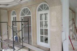 古北萃庭250平聯排別墅在施工項目